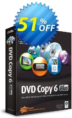 Corel DVD Copy 6 Plus Coupon, discount . Promotion:
