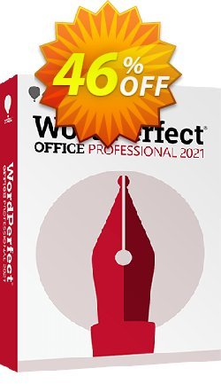 WordPerfect Office Professional 2020 Coupon, discount 55% OFF WordPerfect Office X9 (Professional Edition) 2021. Promotion: Awesome deals code of WordPerfect Office X9 (Professional Edition), tested in {{MONTH}}