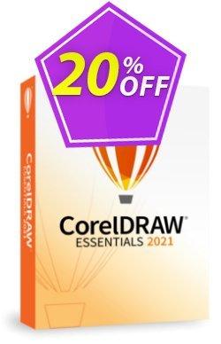 CorelDRAW Essentials 2021 Coupon, discount 20% OFF CorelDRAW Essentials 2021, verified. Promotion: Awesome deals code of CorelDRAW Essentials 2021, tested & approved