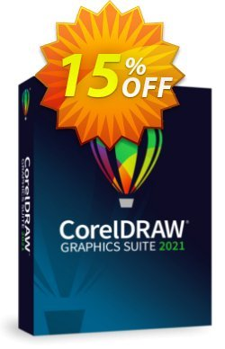 CorelDRAW Graphics Suite 2021 - Annual Plan  Coupon, discount 15% OFF CorelDRAW Graphics Suite 2021 (365-day Subscription) 2021. Promotion: Awesome deals code of CorelDRAW Graphics Suite 2021 (365-day Subscription), tested in {{MONTH}}