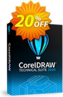 CorelDRAW Technical Suite 2019 Coupon, discount 20% OFF CorelDRAW Technical Suite 2020 Nov 2020. Promotion: Awesome deals code of CorelDRAW Technical Suite 2020, tested in November 2020