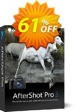 AfterShot Pro Upgrade Coupon, discount 50% OFF AfterShot Pro 3 2021. Promotion: Awesome deals code of AfterShot Pro 3, tested in {{MONTH}}