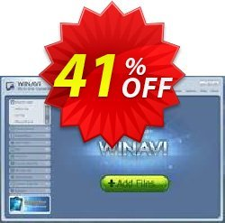 WinAVI All-In-One Converter Coupon, discount WinAVI All-In-One Converter Exclusive sales code 2020. Promotion: Exclusive sales code of WinAVI All-In-One Converter 2020
