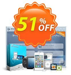 WinAVI iPod/3GP/MP4/PSP Converter Coupon discount WinAVI iPod/3GP/MP4/PSP Converter Formidable discounts code 2020. Promotion: Formidable discounts code of WinAVI iPod/3GP/MP4/PSP Converter 2020