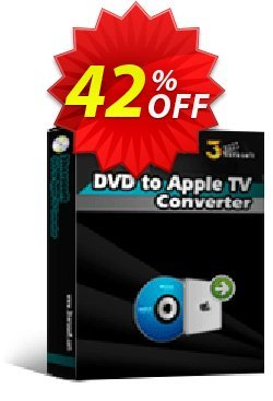 3herosoft DVD to Apple TV Converter Coupon, discount 3herosoft DVD to Apple TV Converter Stunning sales code 2020. Promotion: Stunning sales code of 3herosoft DVD to Apple TV Converter 2020