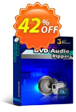 3herosoft DVD Audio Ripper Coupon, discount 3herosoft DVD Audio Ripper Staggering deals code 2020. Promotion: Staggering deals code of 3herosoft DVD Audio Ripper 2020