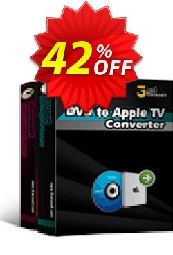 3herosoft DVD to Apple TV Suite Coupon, discount 3herosoft DVD to Apple TV Suite Amazing deals code 2020. Promotion: Amazing deals code of 3herosoft DVD to Apple TV Suite 2020