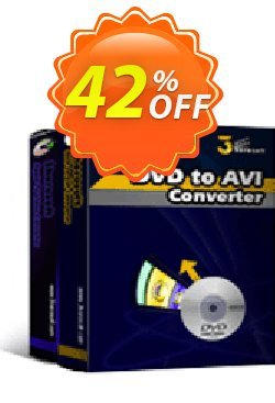 3herosoft DVD to AVI Suite Coupon, discount 3herosoft DVD to AVI Suite Fearsome discount code 2020. Promotion: Fearsome discount code of 3herosoft DVD to AVI Suite 2020
