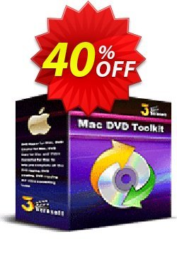 3herosoft Mac DVD Toolkit Coupon, discount 3herosoft Mac DVD Toolkit Exclusive offer code 2020. Promotion: Exclusive offer code of 3herosoft Mac DVD Toolkit 2020