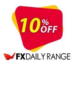 FX DailyRange - Yearly Coupon, discount FX DailyRange - Yearly Amazing deals code 2020. Promotion: Amazing deals code of FX DailyRange - Yearly 2020