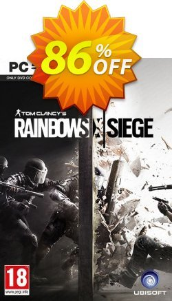 Tom Clancy's Rainbow Six Siege PC Coupon discount Tom Clancy's Rainbow Six Siege PC Deal. Promotion: Tom Clancy's Rainbow Six Siege PC Exclusive offer for iVoicesoft