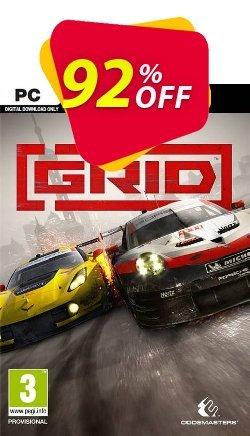 GRID PC + DLC Coupon discount GRID PC + DLC Deal - GRID PC + DLC Exclusive offer for iVoicesoft
