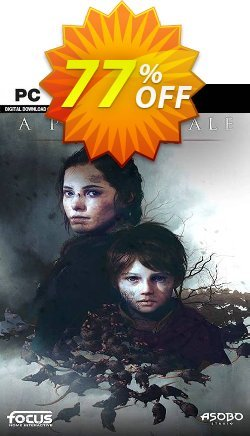A Plague Tale: Innocence PC Coupon, discount A Plague Tale: Innocence PC Deal. Promotion: A Plague Tale: Innocence PC Exclusive offer for iVoicesoft