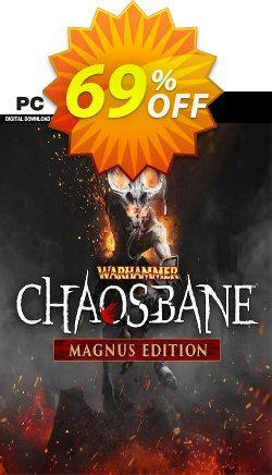 Warhammer Chaosbane Magnus Edition PC Coupon discount Warhammer Chaosbane Magnus Edition PC Deal - Warhammer Chaosbane Magnus Edition PC Exclusive offer for iVoicesoft