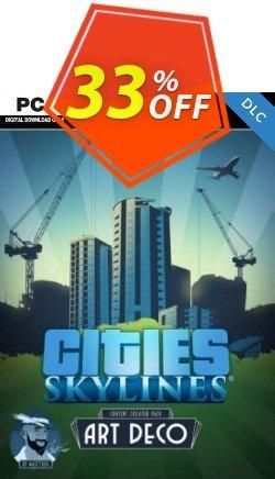Cities Skylines - Content Creator Pack Art Deco DLC Coupon discount Cities Skylines - Content Creator Pack Art Deco DLC Deal - Cities Skylines - Content Creator Pack Art Deco DLC Exclusive offer for iVoicesoft