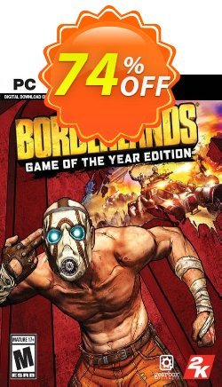 Borderlands Game of the Year Enhanced PC - EU  Coupon discount Borderlands Game of the Year Enhanced PC (EU) Deal - Borderlands Game of the Year Enhanced PC (EU) Exclusive offer for iVoicesoft
