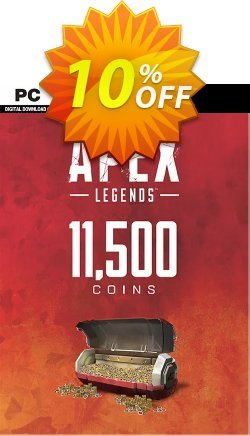 Apex Legends 11500 Coins VC PC Coupon, discount Apex Legends 11500 Coins VC PC Deal. Promotion: Apex Legends 11500 Coins VC PC Exclusive offer for iVoicesoft