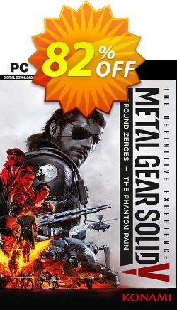 Metal Gear Solid V 5 Definitive Experience PC Coupon discount Metal Gear Solid V 5 Definitive Experience PC Deal. Promotion: Metal Gear Solid V 5 Definitive Experience PC Exclusive offer for iVoicesoft