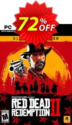Red Dead Redemption 2 - Ultimate Edition PC Coupon discount Red Dead Redemption 2 - Ultimate Edition PC Deal - Red Dead Redemption 2 - Ultimate Edition PC Exclusive offer for iVoicesoft