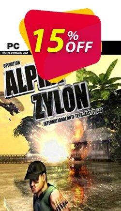 Alpha Zylon PC Coupon, discount Alpha Zylon PC Deal. Promotion: Alpha Zylon PC Exclusive offer for iVoicesoft