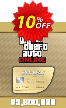 Grand Theft Auto Online - GTA V 5 : Whale Shark Cash Card PC Coupon, discount Grand Theft Auto Online (GTA V 5): Whale Shark Cash Card PC Deal. Promotion: Grand Theft Auto Online (GTA V 5): Whale Shark Cash Card PC Exclusive offer for iVoicesoft