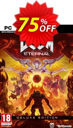 DOOM Eternal Deluxe Edition PC Coupon discount DOOM Eternal Deluxe Edition PC Deal - DOOM Eternal Deluxe Edition PC Exclusive offer for iVoicesoft