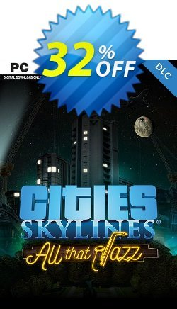 Cities Skylines - All That Jazz DLC Coupon discount Cities Skylines - All That Jazz DLC Deal - Cities Skylines - All That Jazz DLC Exclusive offer for iVoicesoft