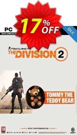 Tom Clancy's The Division 2 PC - Tommy the Teddy Bear DLC Coupon discount Tom Clancy's The Division 2 PC - Tommy the Teddy Bear DLC Deal - Tom Clancy's The Division 2 PC - Tommy the Teddy Bear DLC Exclusive offer for iVoicesoft