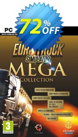 Euro Truck Simulator: Mega Collection PC Coupon discount Euro Truck Simulator: Mega Collection PC Deal. Promotion: Euro Truck Simulator: Mega Collection PC Exclusive offer for iVoicesoft