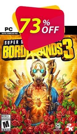 Borderlands 3 Super Deluxe Edition PC + DLC - EU  Coupon discount Borderlands 3 Super Deluxe Edition PC + DLC (EU) Deal - Borderlands 3 Super Deluxe Edition PC + DLC (EU) Exclusive offer for iVoicesoft