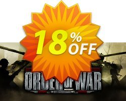 Order of War PC Coupon discount Order of War PC Deal. Promotion: Order of War PC Exclusive offer for iVoicesoft