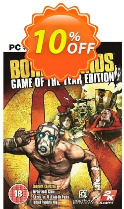 Borderlands: Game of the Year Edition PC - EU  Coupon, discount Borderlands: Game of the Year Edition PC (EU) Deal. Promotion: Borderlands: Game of the Year Edition PC (EU) Exclusive offer for iVoicesoft