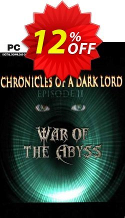 Chronicles of a Dark Lord Episode II War of The Abyss PC Coupon discount Chronicles of a Dark Lord Episode II War of The Abyss PC Deal - Chronicles of a Dark Lord Episode II War of The Abyss PC Exclusive offer for iVoicesoft