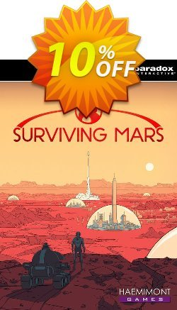 Surviving Mars PC Coupon discount Surviving Mars PC Deal. Promotion: Surviving Mars PC Exclusive offer for iVoicesoft