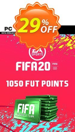 FIFA 20 Ultimate Team - 1050 FIFA Points PC Coupon discount FIFA 20 Ultimate Team - 1050 FIFA Points PC Deal - FIFA 20 Ultimate Team - 1050 FIFA Points PC Exclusive offer for iVoicesoft