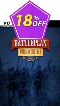 Battleplan American Civil War PC Coupon, discount Battleplan American Civil War PC Deal. Promotion: Battleplan American Civil War PC Exclusive offer for iVoicesoft