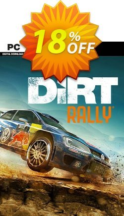 DiRT Rally PC Coupon, discount DiRT Rally PC Deal. Promotion: DiRT Rally PC Exclusive offer for iVoicesoft