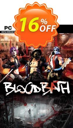 Bloodbath PC Coupon, discount Bloodbath PC Deal. Promotion: Bloodbath PC Exclusive offer for iVoicesoft