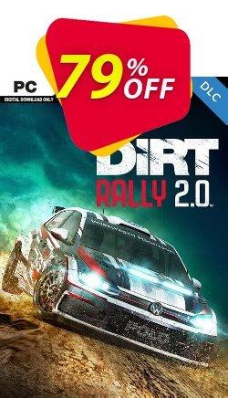 Dirt Rally 2.0 PC DLC Coupon discount Dirt Rally 2.0 PC DLC Deal - Dirt Rally 2.0 PC DLC Exclusive offer for iVoicesoft