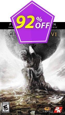 Sid Meiers Civilization VI 6: Platinum Edition PC - WW  Coupon discount Sid Meiers Civilization VI 6: Platinum Edition PC (WW) Deal - Sid Meiers Civilization VI 6: Platinum Edition PC (WW) Exclusive offer for iVoicesoft