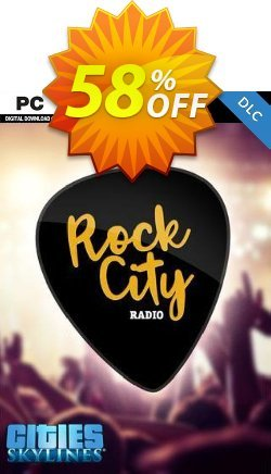 Cities Skylines - Rock City Radio DLC Coupon discount Cities Skylines - Rock City Radio DLC Deal - Cities Skylines - Rock City Radio DLC Exclusive offer for iVoicesoft
