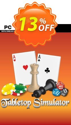 Tabletop Simulator PC Coupon, discount Tabletop Simulator PC Deal. Promotion: Tabletop Simulator PC Exclusive offer for iVoicesoft