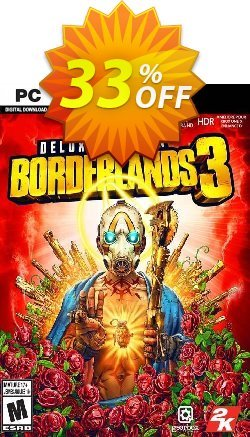 Borderlands 3 Deluxe Edition PC + DLC - US/AUS/JP  Coupon discount Borderlands 3 Deluxe Edition PC + DLC (US/AUS/JP) Deal - Borderlands 3 Deluxe Edition PC + DLC (US/AUS/JP) Exclusive offer for iVoicesoft