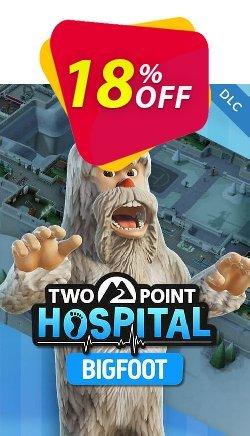 Two Point Hospital PC Bigfoot DLC Coupon discount Two Point Hospital PC Bigfoot DLC Deal - Two Point Hospital PC Bigfoot DLC Exclusive offer for iVoicesoft
