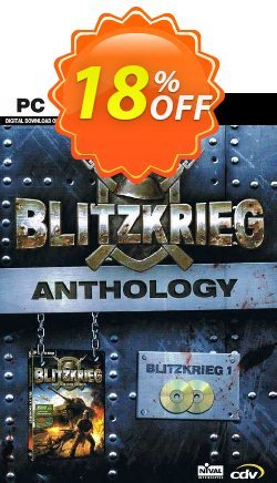 Blitzkrieg Anthology PC Coupon discount Blitzkrieg Anthology PC Deal - Blitzkrieg Anthology PC Exclusive offer for iVoicesoft