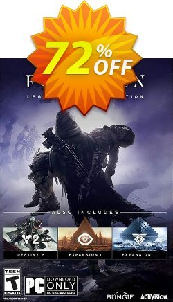 Destiny 2 Forsaken - Legendary Collection PC - US  Coupon discount Destiny 2 Forsaken - Legendary Collection PC (US) Deal - Destiny 2 Forsaken - Legendary Collection PC (US) Exclusive offer for iVoicesoft