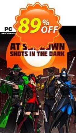 At Sundown: Shots in the Dark PC Coupon, discount At Sundown: Shots in the Dark PC Deal. Promotion: At Sundown: Shots in the Dark PC Exclusive offer for iVoicesoft