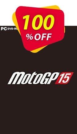 MotoGP 15 PC Coupon discount MotoGP 15 PC Deal - MotoGP 15 PC Exclusive offer for iVoicesoft