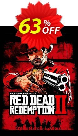 Red Dead Redemption 2 PC Coupon discount Red Dead Redemption 2 PC Deal - Red Dead Redemption 2 PC Exclusive offer for iVoicesoft