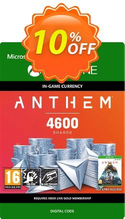 Anthem 4600 Shards Pack Xbox One Coupon discount Anthem 4600 Shards Pack Xbox One Deal. Promotion: Anthem 4600 Shards Pack Xbox One Exclusive offer for iVoicesoft